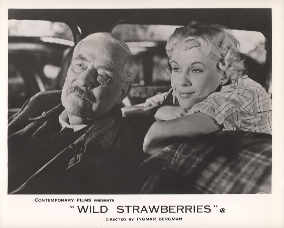 Wild Strawberries 1957 British Front of House Card