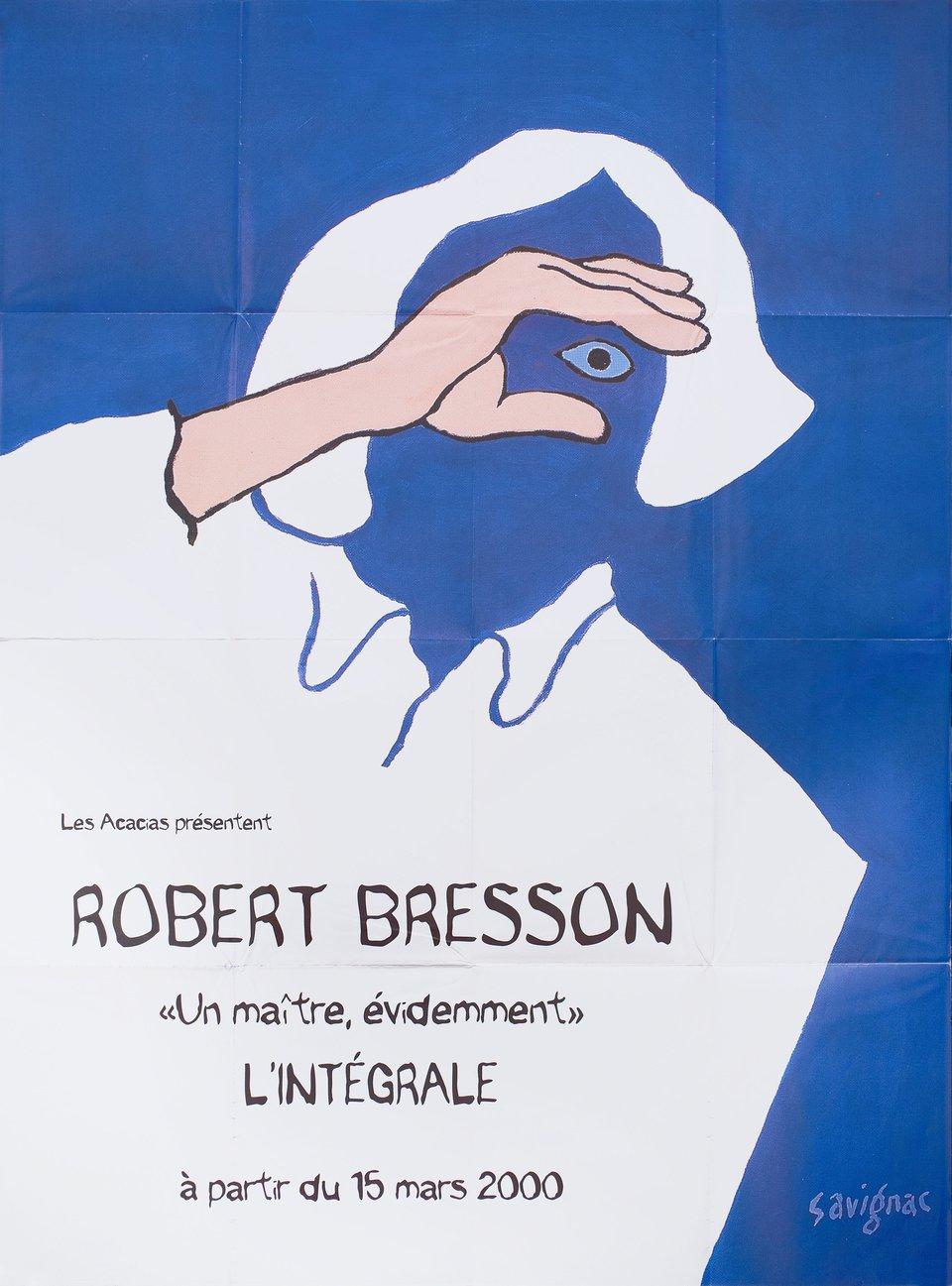 Bresson Festival 2000 French Grande Poster