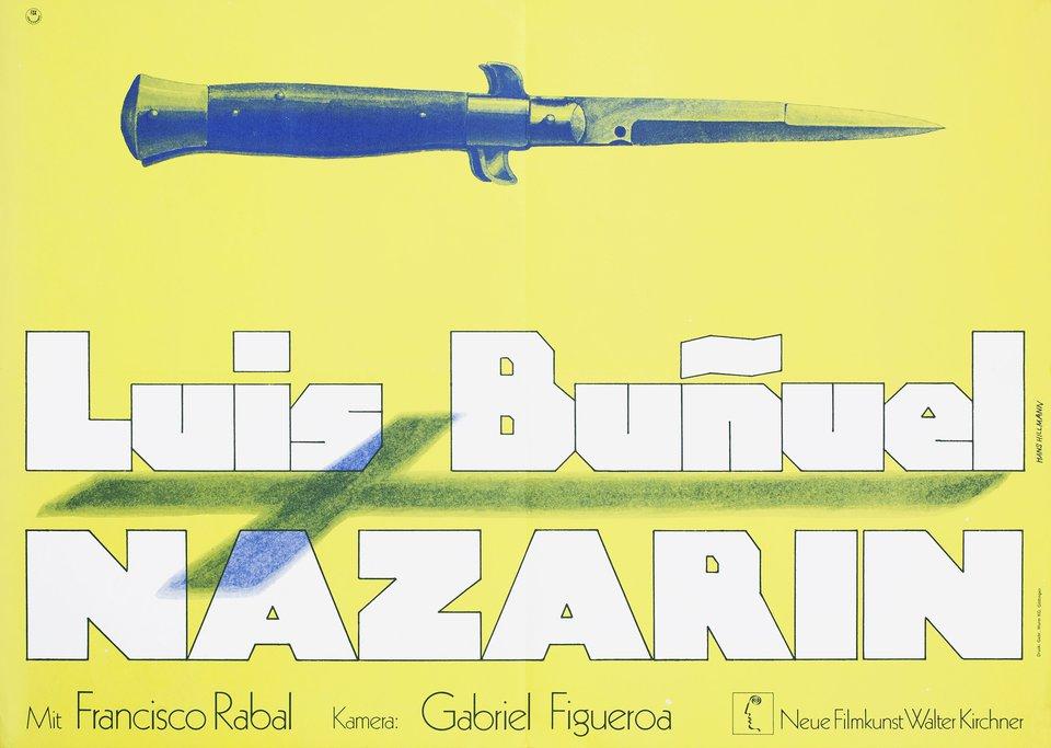Nazarin 1965 German A2 Poster