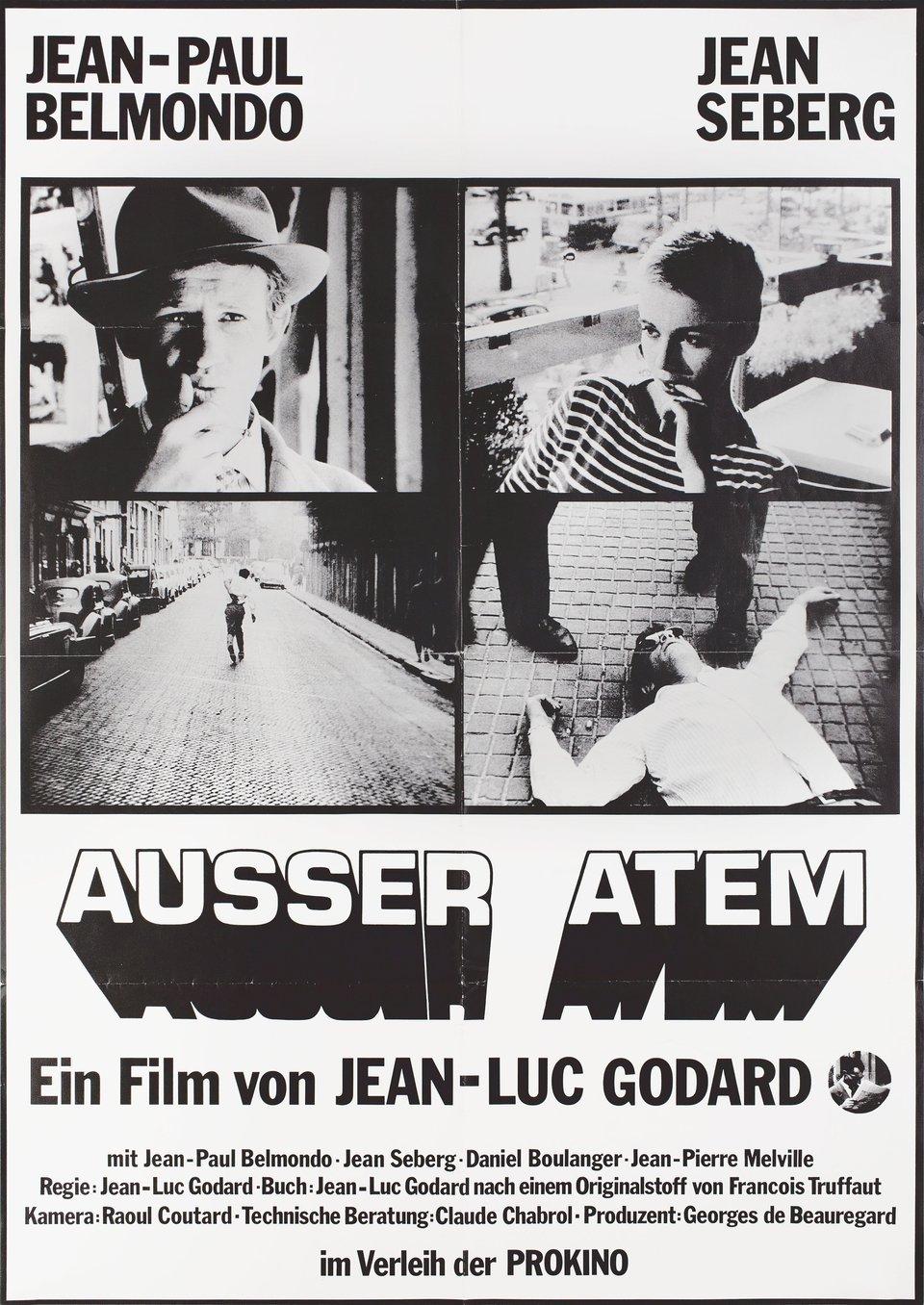 Breathless R1974 German A1 Poster