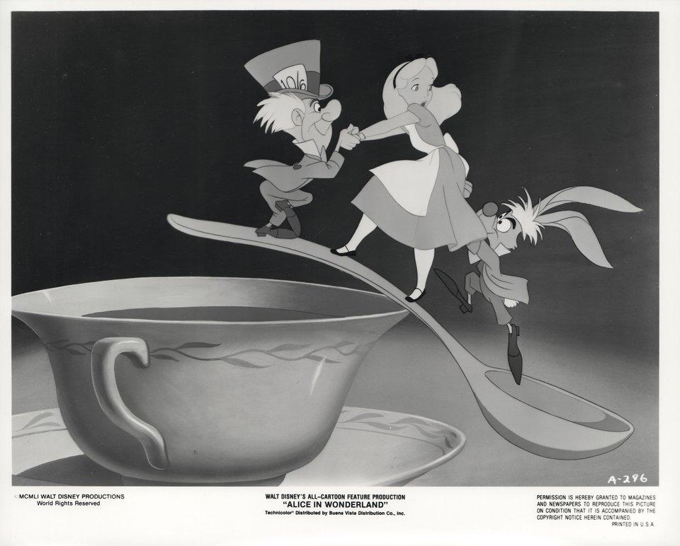 Alice in Wonderland R1974 U.S. Silver Gelatin Single-Weight Photo